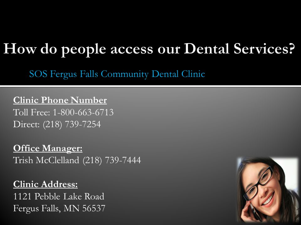 How do people access our Dental Services
