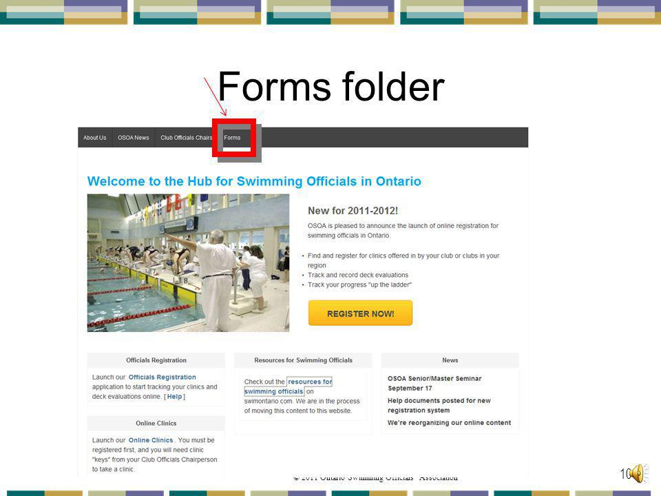 Forms folder Back to the OSOA home page