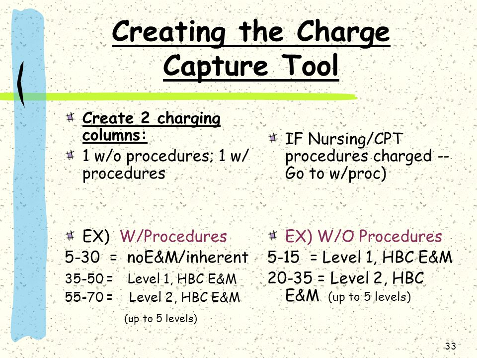 Creating the Charge Capture Tool