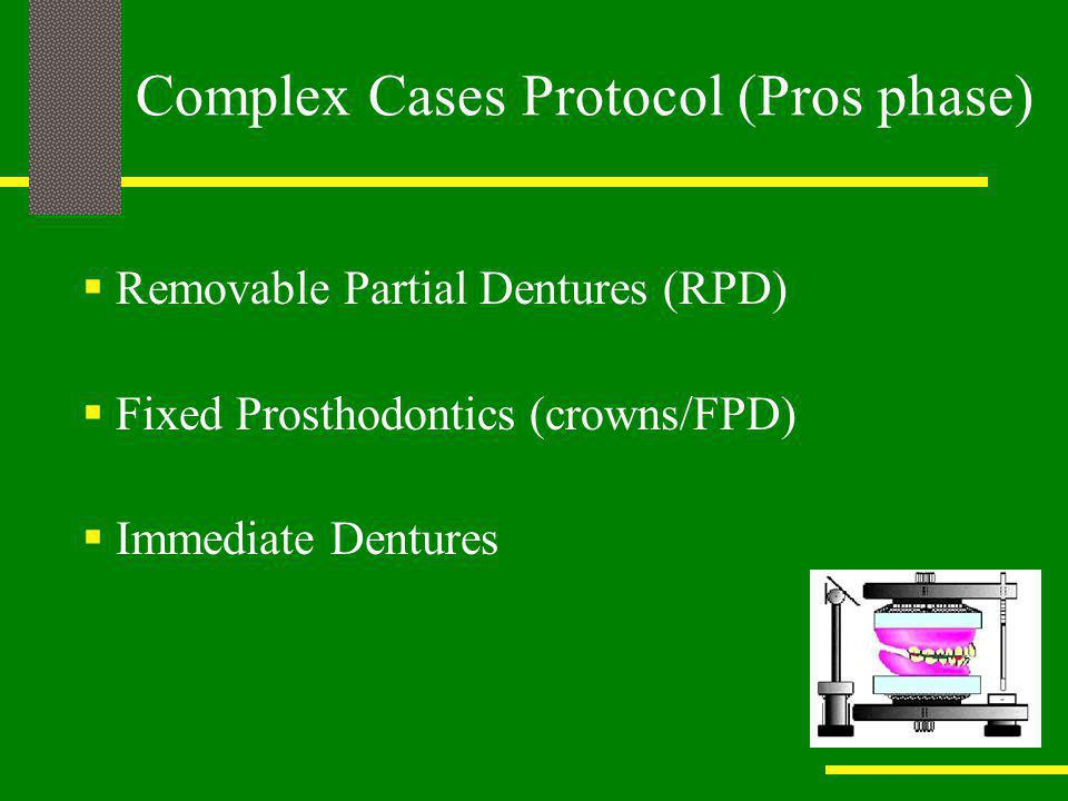 Complex Cases Protocol (Pros phase)