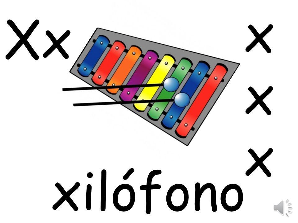x Xx xilófono