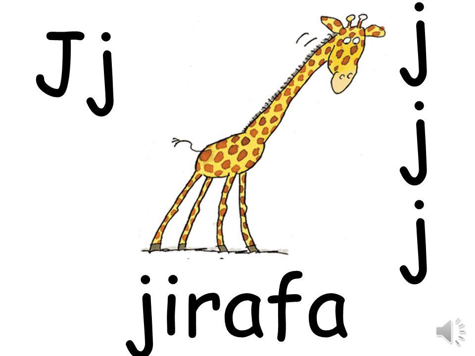 j Jj jirafa
