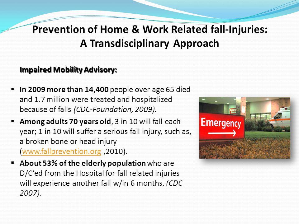 Impaired Mobility Advisory: