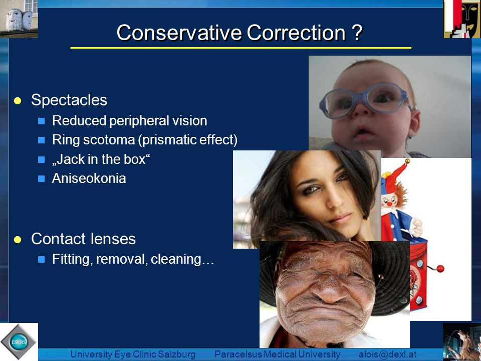 Conservative Correction