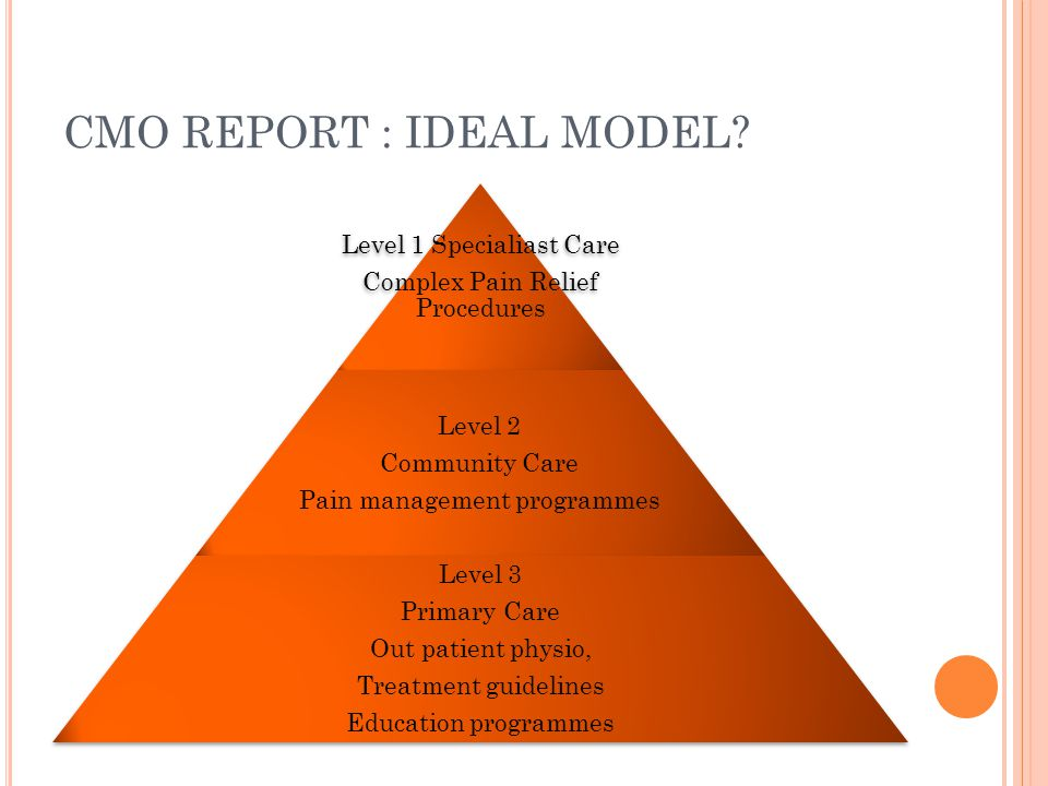 CMO REPORT : IDEAL MODEL