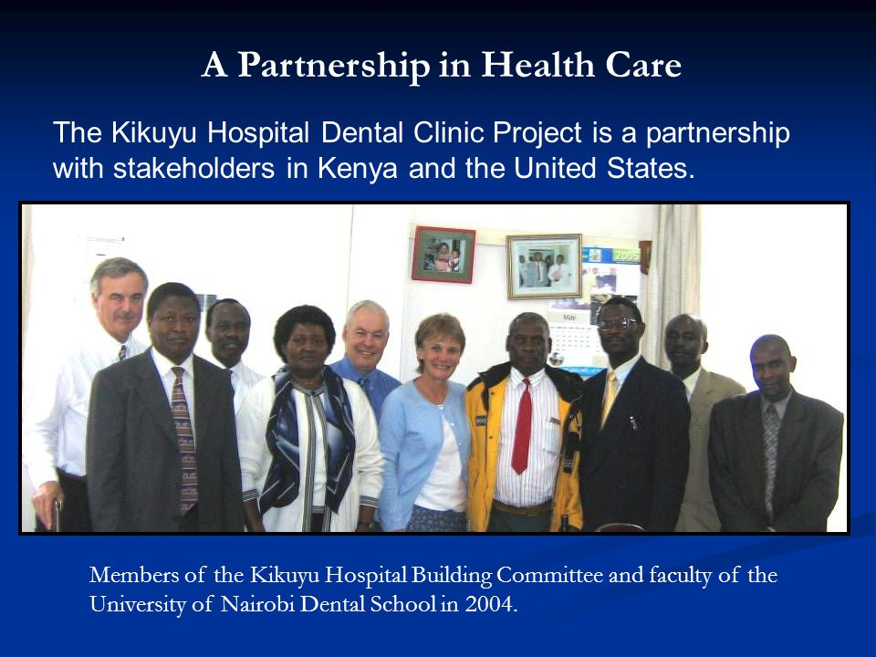 A Partnership in Health Care