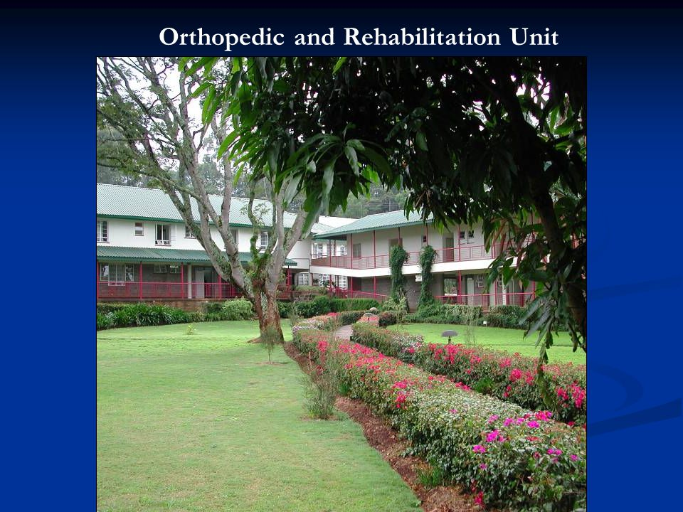 Orthopedic and Rehabilitation Unit