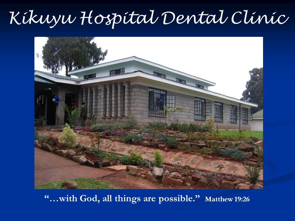 Kikuyu Hospital Dental Clinic