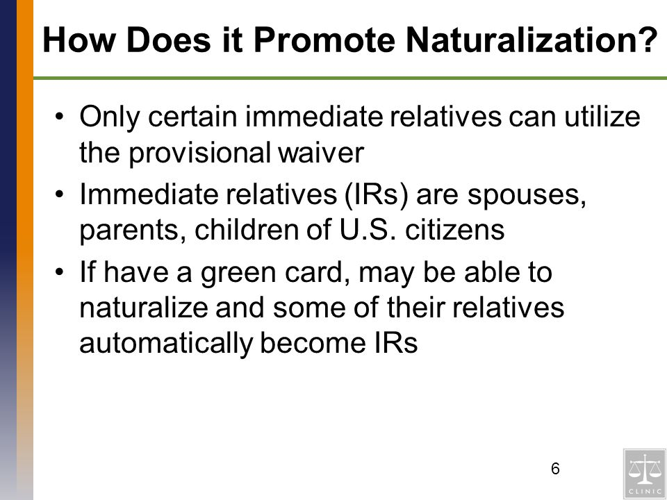How Does it Promote Naturalization