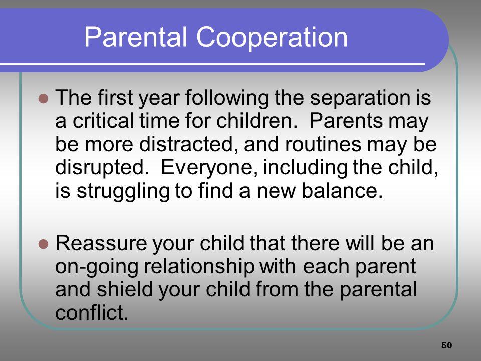 Parental Cooperation
