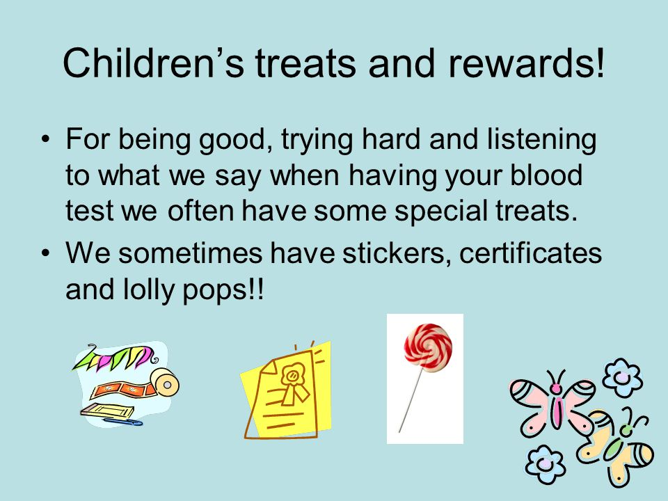 Children's treats and rewards!