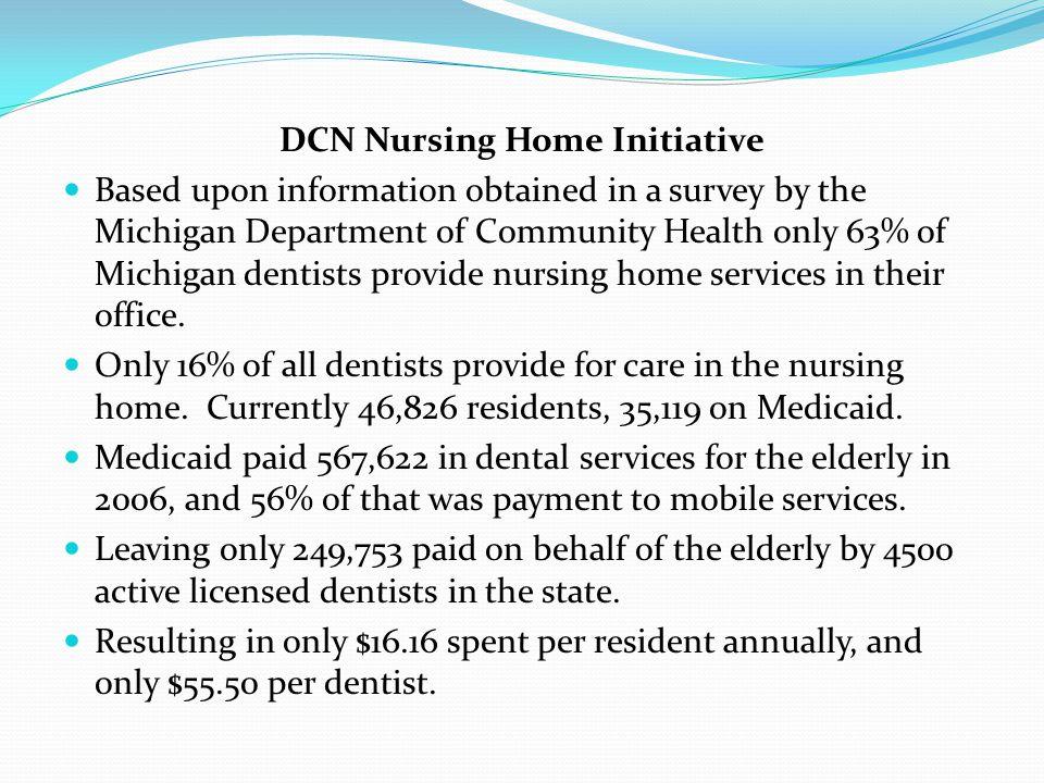 DCN Nursing Home Initiative