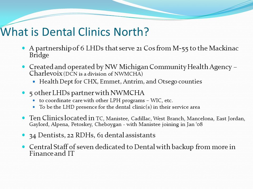 What is Dental Clinics North