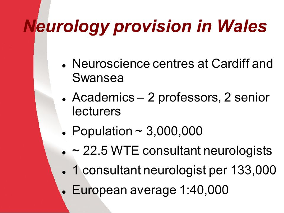 Neurology provision in Wales