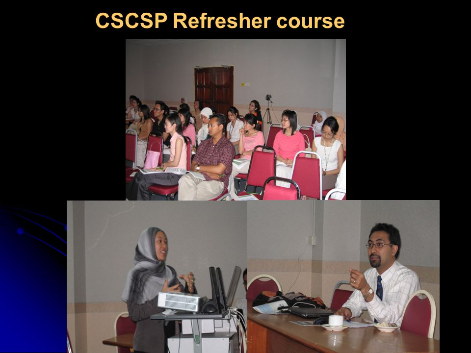 Audience at CSCSP refresher course