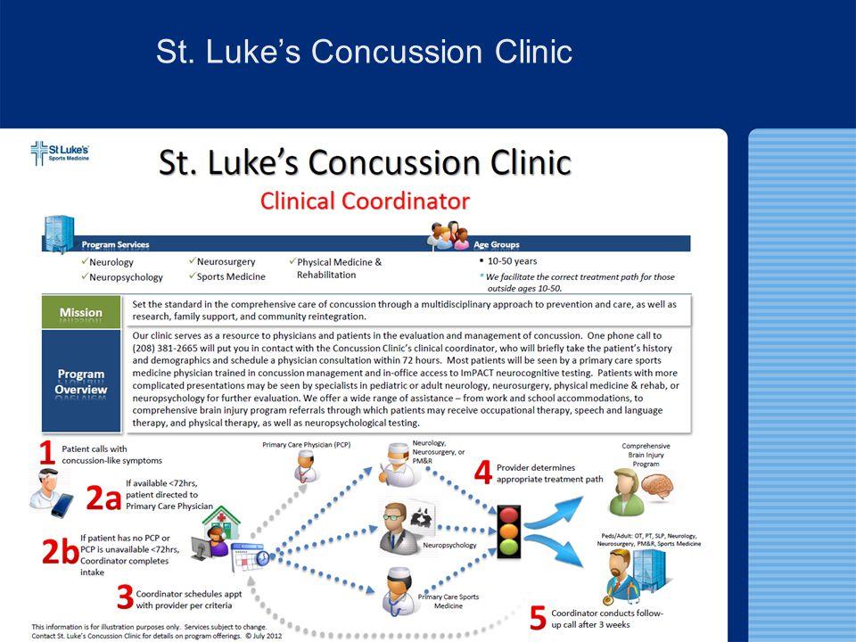 St. Luke's Concussion Clinic