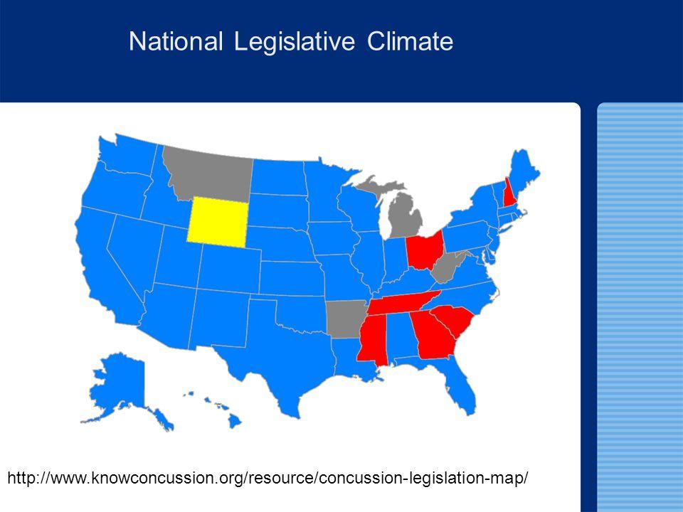 National Legislative Climate