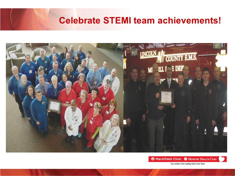 Celebrate STEMI team achievements!