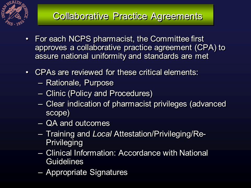 Collaborative Practice Agreements