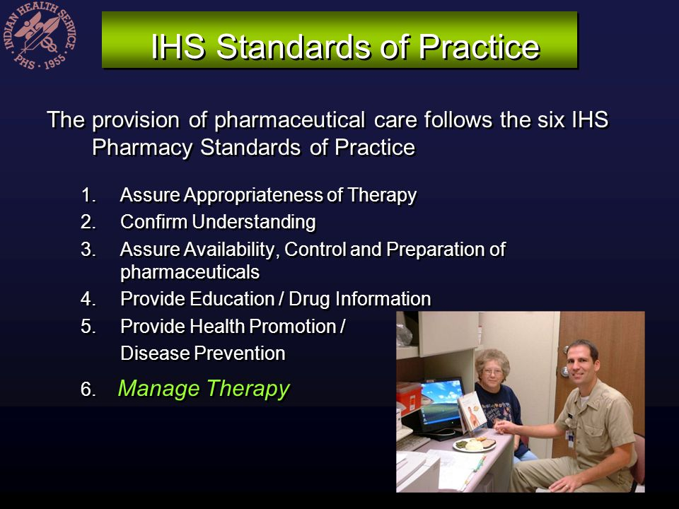 IHS Standards of Practice