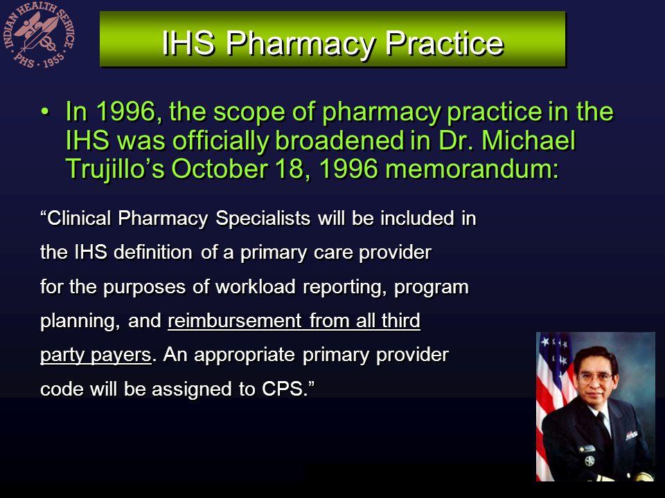 IHS Pharmacy Practice