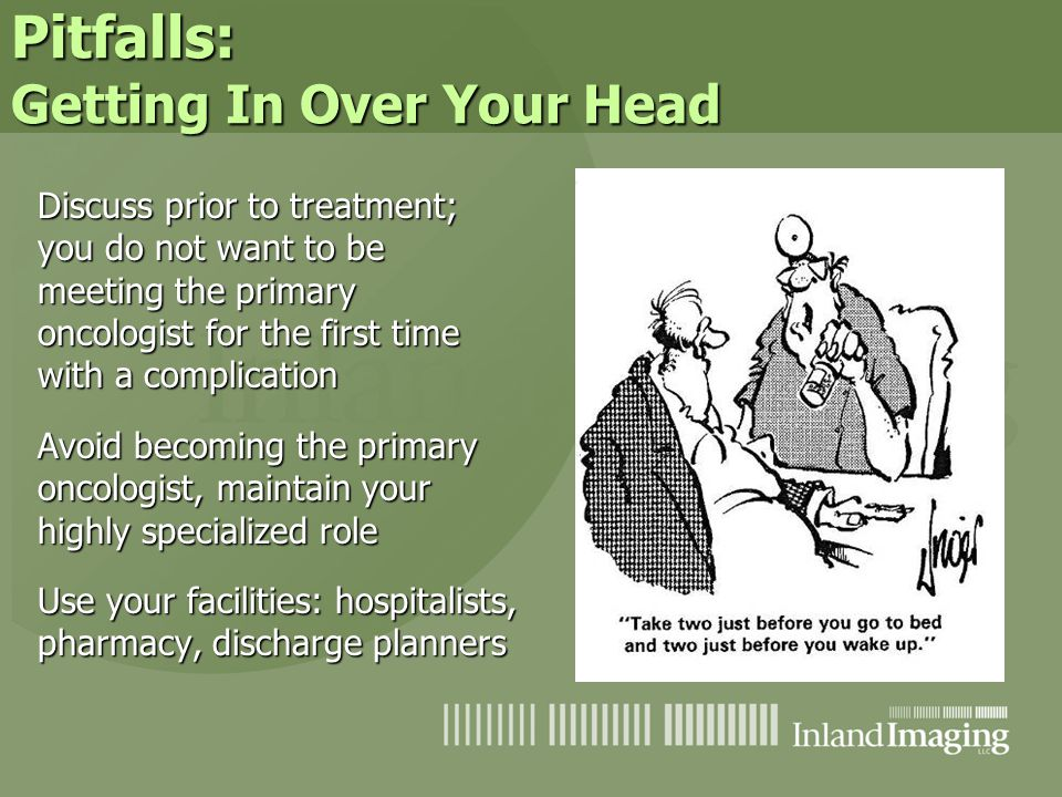 Pitfalls: Getting In Over Your Head