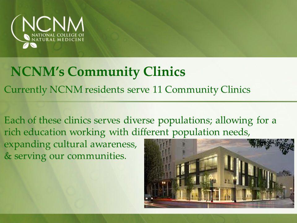 NCNM's Community Clinics