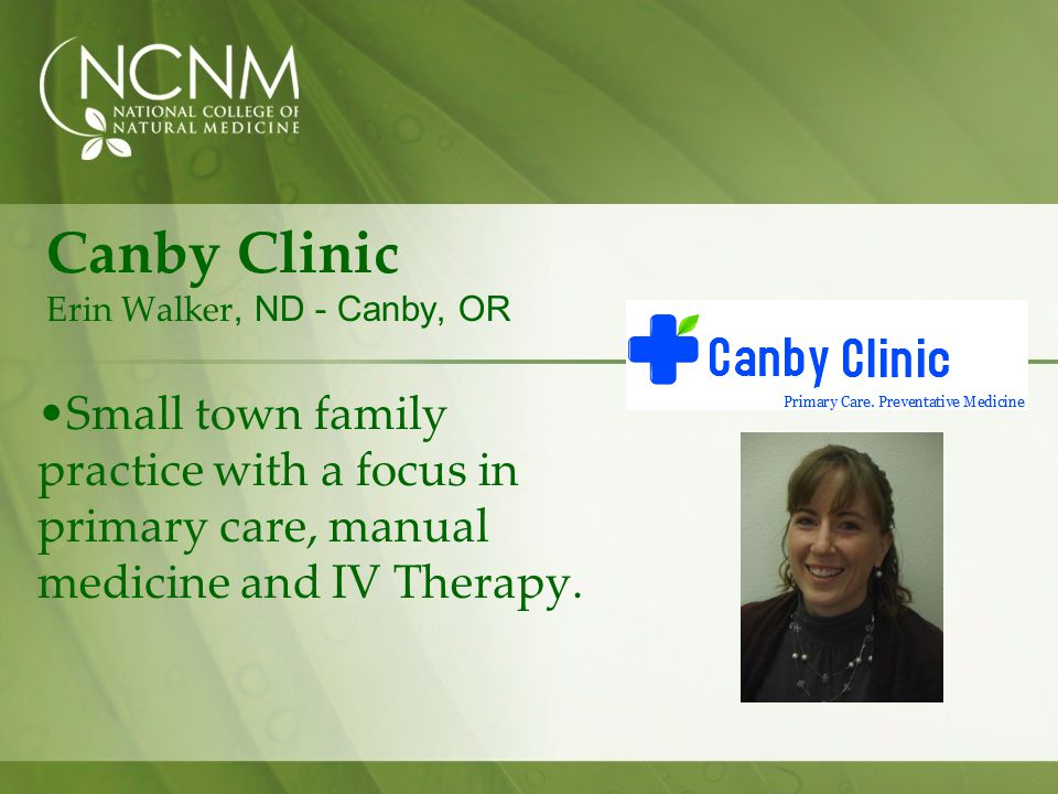 Canby Clinic Erin Walker, ND - Canby, OR