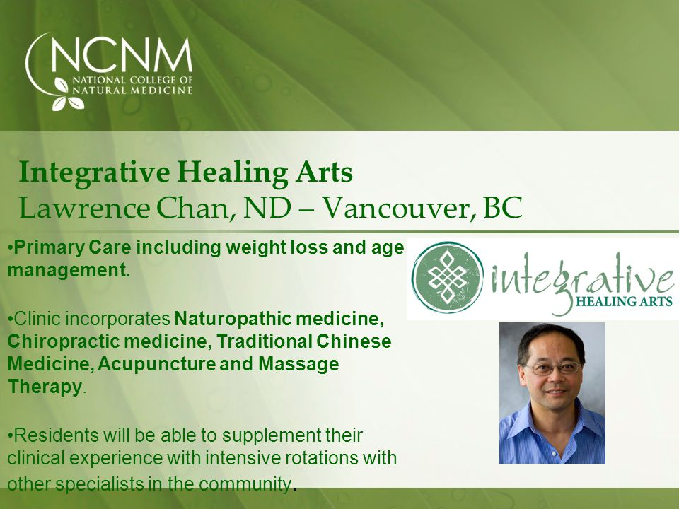 Integrative Healing Arts Lawrence Chan, ND – Vancouver, BC