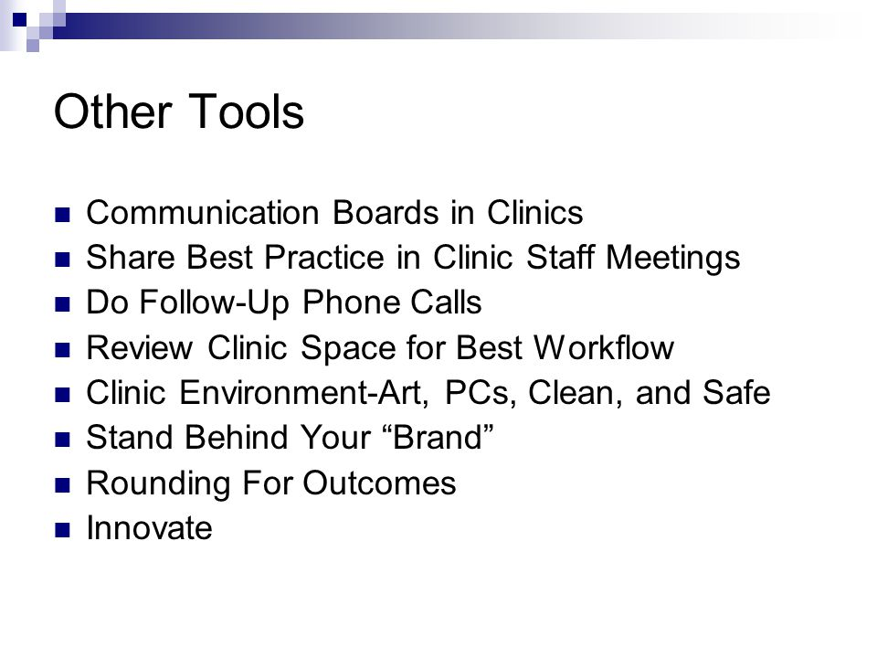 Other Tools Communication Boards in Clinics