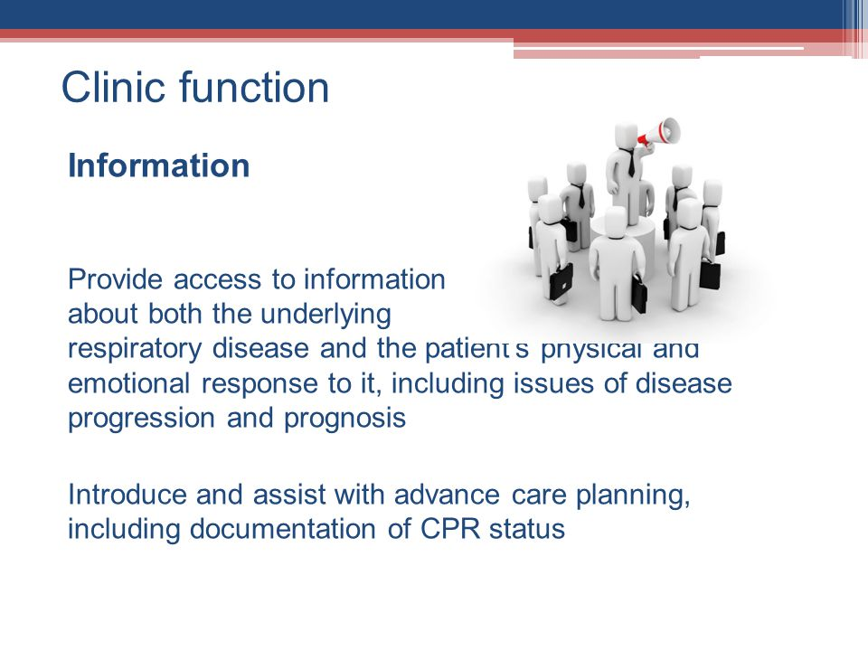 Clinic function Information