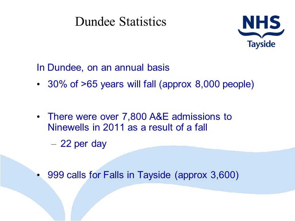 Dundee Statistics In Dundee, on an annual basis