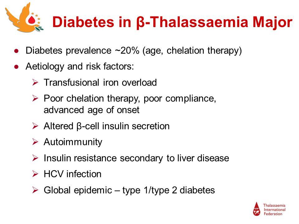 Diabetes in β-Thalassaemia Major