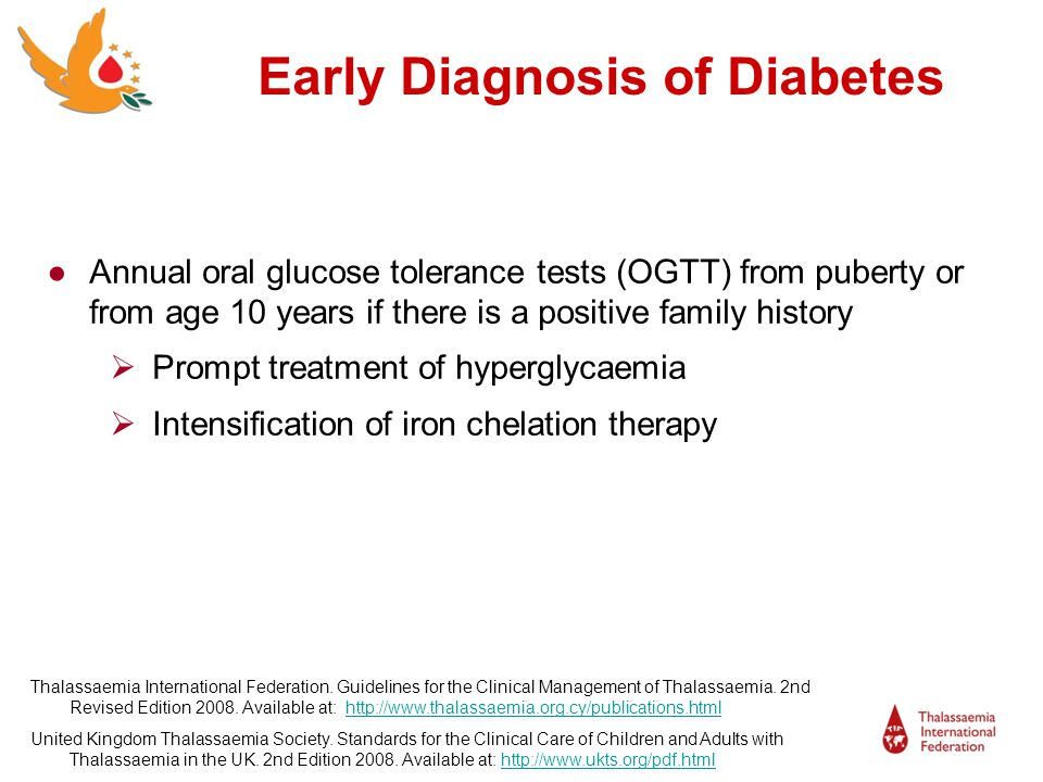 Early Diagnosis of Diabetes