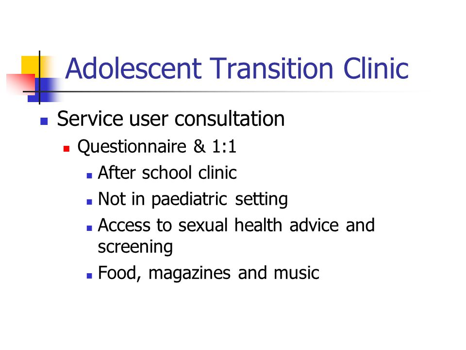 Adolescent Transition Clinic
