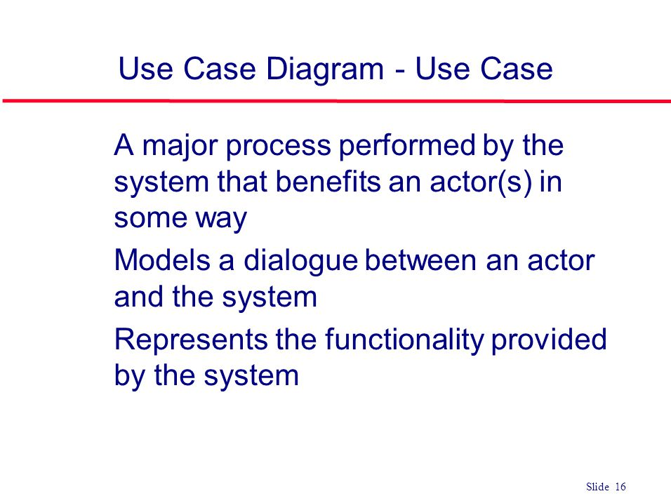 Use Case Diagram - Use Case