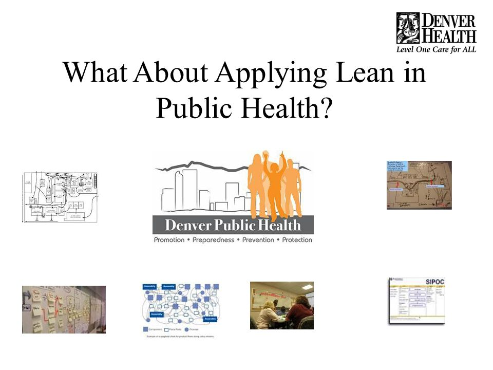 What About Applying Lean in Public Health