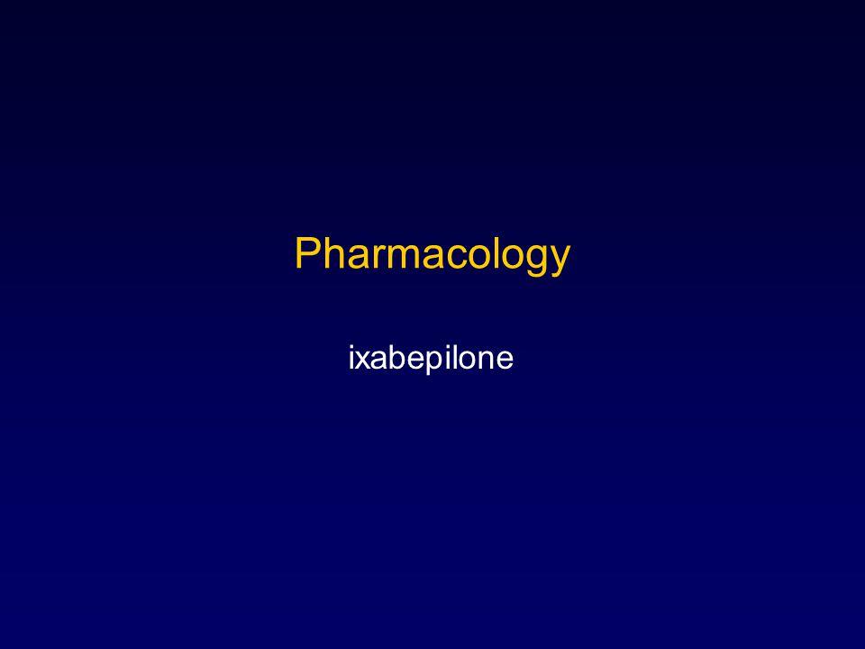 Pharmacology ixabepilone