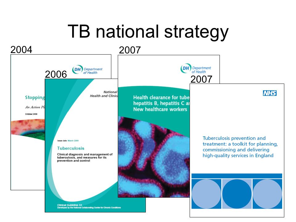 TB national strategy 2004 2007 2006 2007