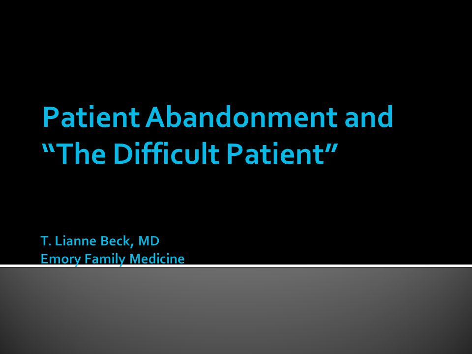T. Lianne Beck, MD Emory Family Medicine