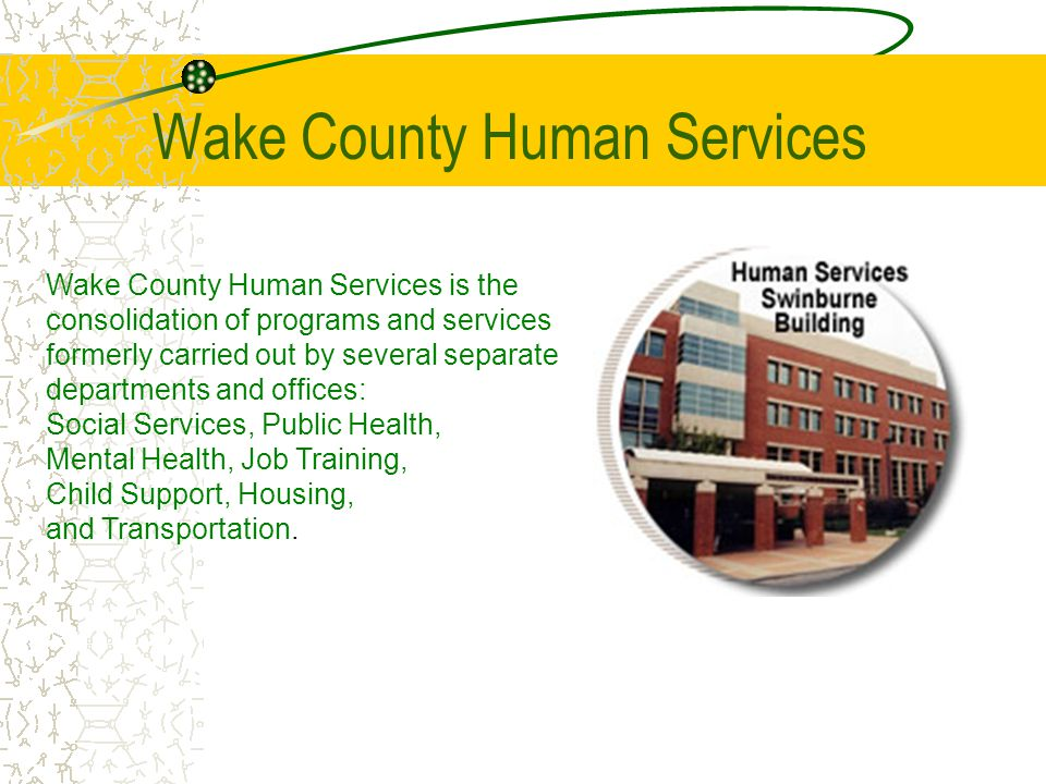 Wake County Human Services