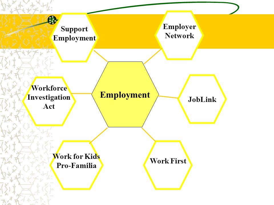 Employment Employer Network Support Employment JobLink Workforce