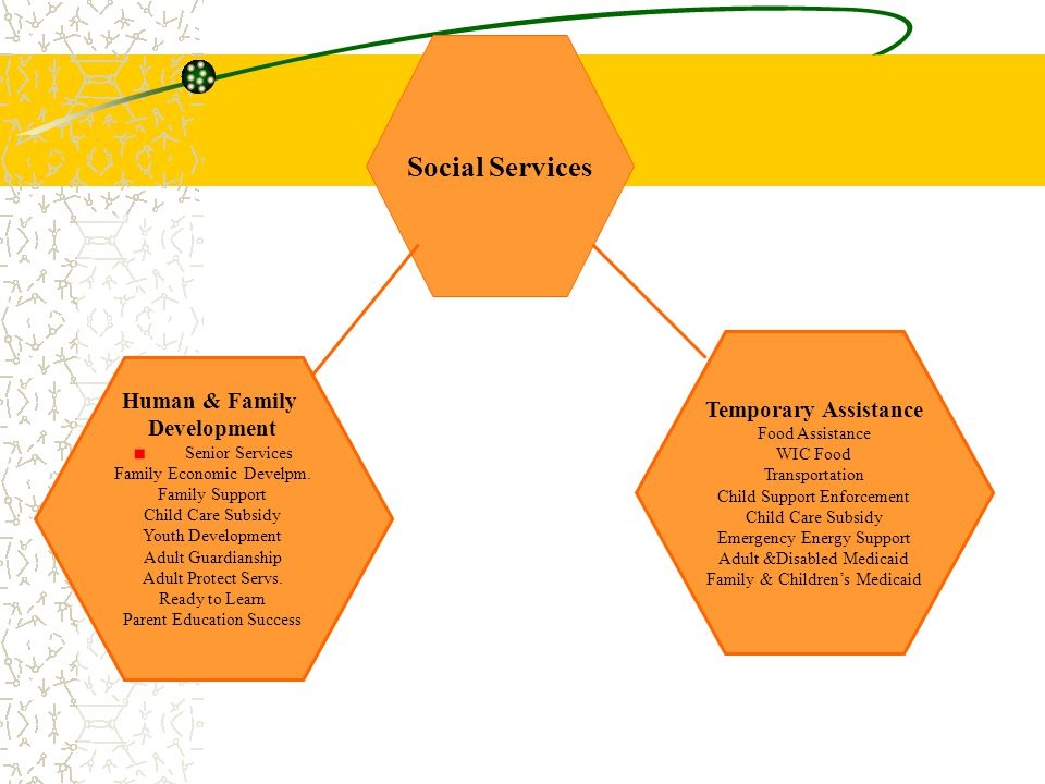Social Services Temporary Assistance Human & Family Development