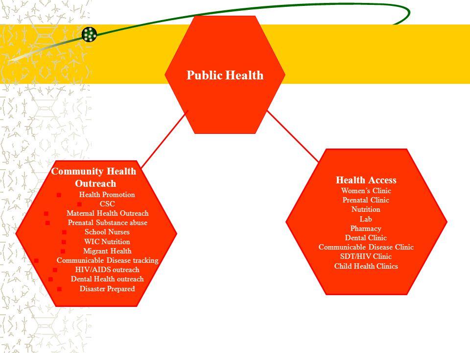 Public Health Health Access Community Health Outreach Women's Clinic
