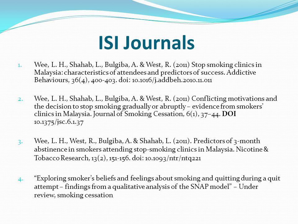 ISI Journals