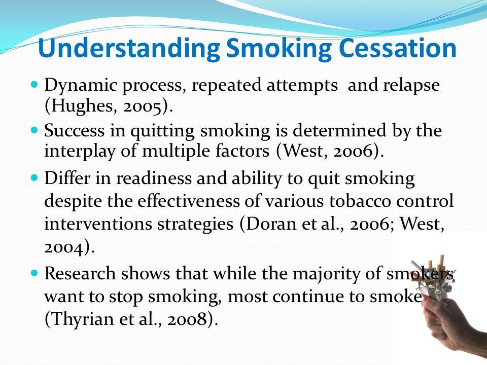 Understanding Smoking Cessation