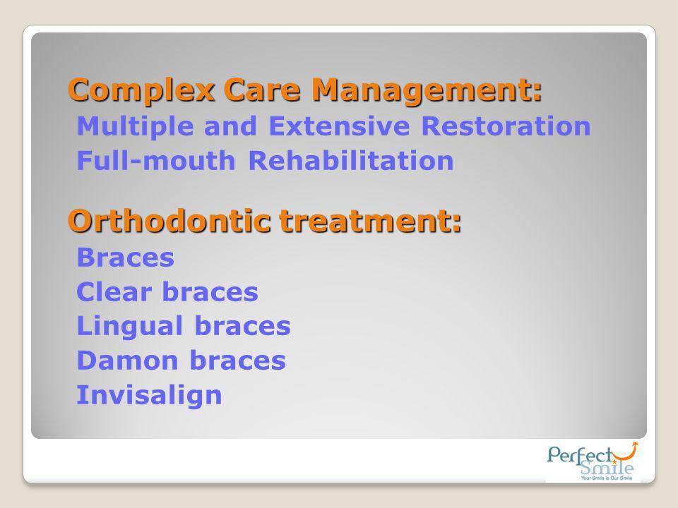 Complex Care Management: