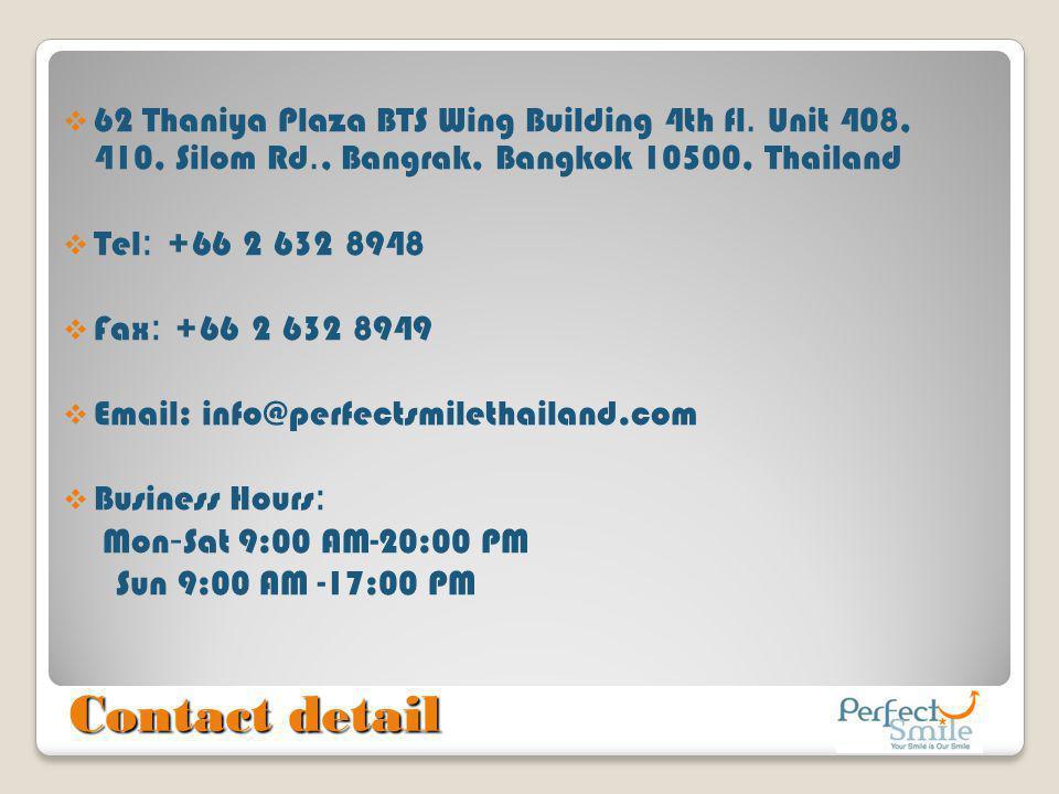 62 Thaniya Plaza BTS Wing Building 4th fl. Unit 408, 410, Silom Rd
