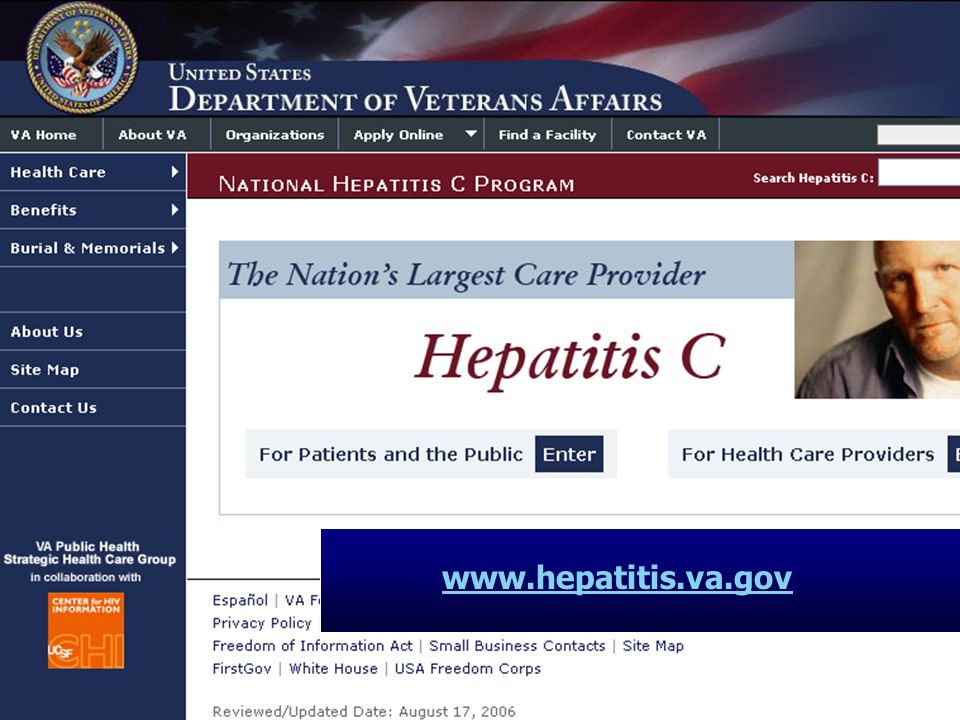 www.hepatitis.va.gov