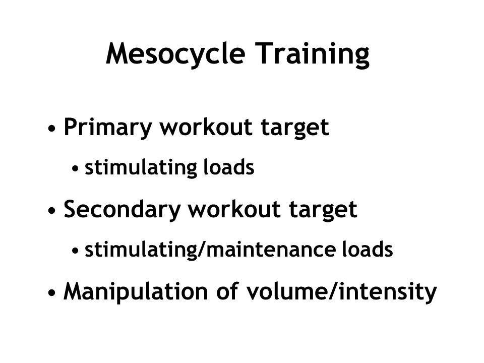 2009 VO2max Distance Running Clinic